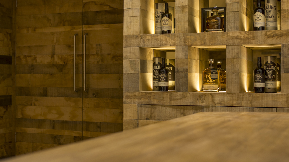 interior design photography Teeling Whiskey