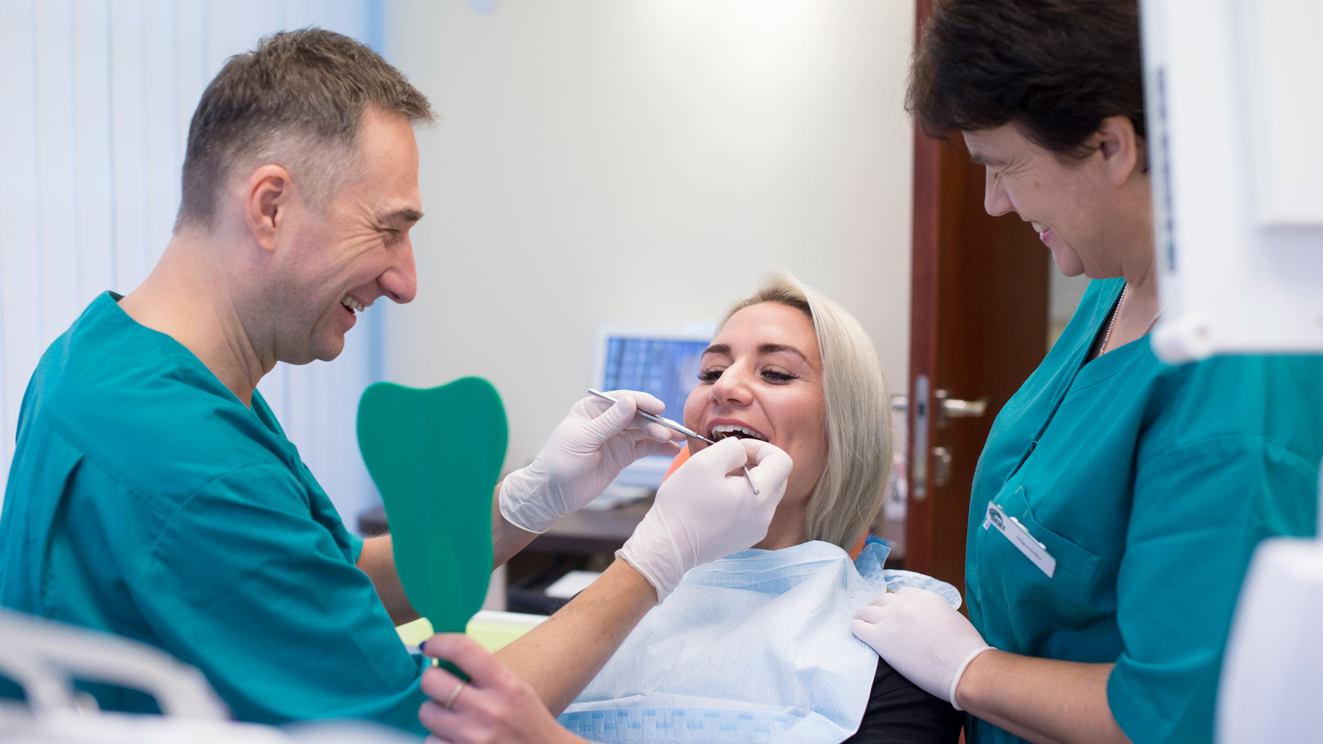 dental clinic website photography