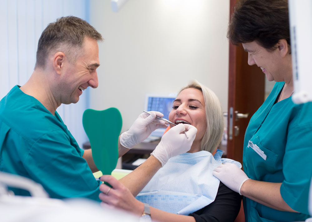 dental healthcare website photography