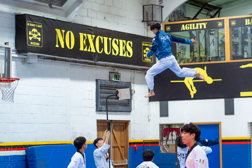Taekwondo Peace Corps Demonstration Team Dublin event sport photography
