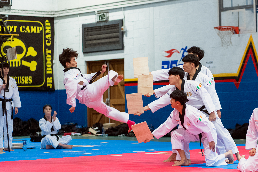 Taekwondo Peace Corps Demonstration Team Dublin
