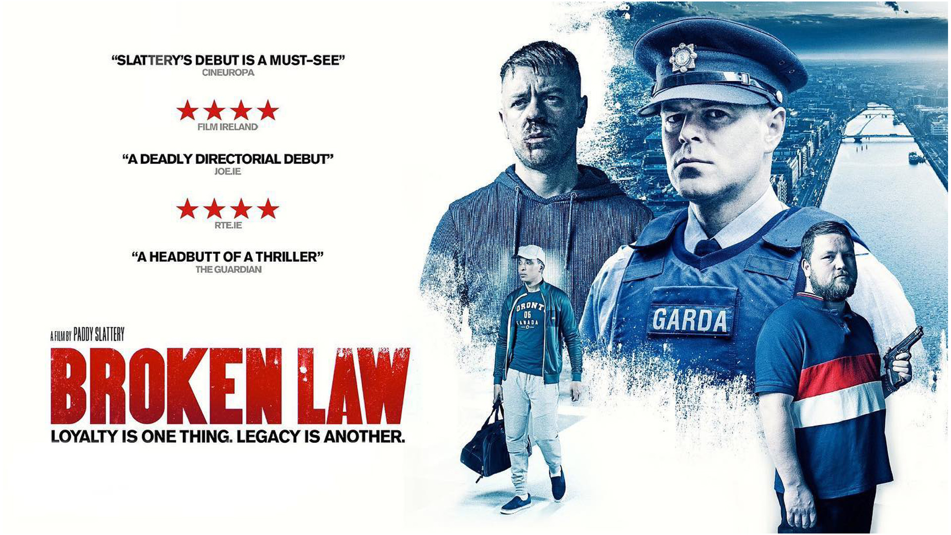 film set _photography_poster_Broken-Law_Irish-film_director_Paddy-Slattery